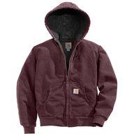 Carhartt Women's Sandstone Quilted-Flannel Active Jac Jacket