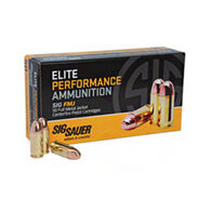 SIG Sauer Elite Performance 38 Super +P 125 Grain FMJ Pistol Ammo (50)