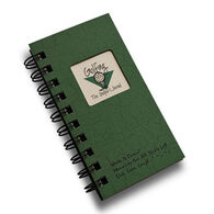 "Journals Unlimited ""Write it Down!"" Mini-Size Golf Journal - Green"