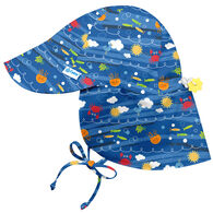 Green Sprouts Infant/Toddler Boy's Flap Sun Protection Hat