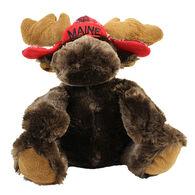 Wishpets Stuffed Sitting Moose w/Hat