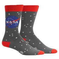Sock It To Me Men's Stargazer NASA Crew Sock
