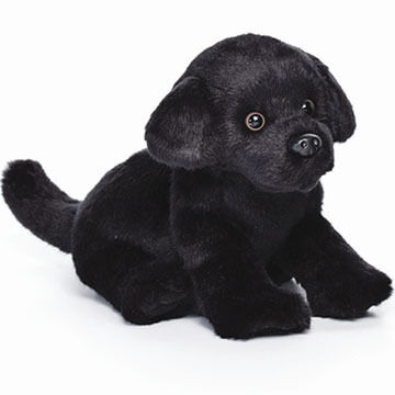 Nat & Jules Black Labrador Beanbag Stuffed Animal