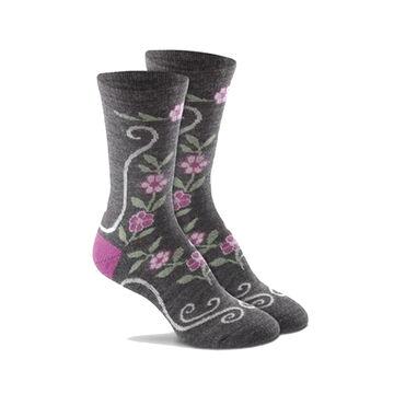 Fox River Mills Womens Desert Flower Crew Sock