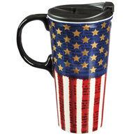 Evergreen Liberty Ceramic Travel Cup w/ Lid