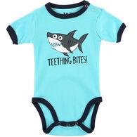 Lazy One Infant Boy's Teething Bites Shark Creeper