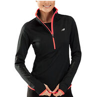 New Balance Women's Impact Thermal Zip Top