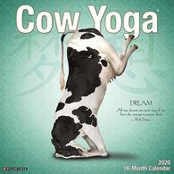 Willow Creek Press Cow Yoga 2020 Wall Calendar