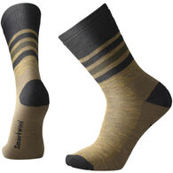 SmartWool Men's Striped Hike Medium Cushion Crew Sock - Special Purchase