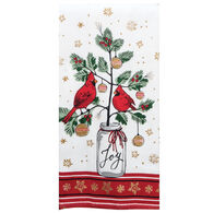 Kay Dee Designs Christmas Cardinal Dual Purpose Terry Towel