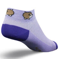 SockGuy Women's Porcupine Bicycling Sock