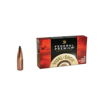 Federal Premium Vital-Shok 270 Winchester 150 Grain Nosler Partition Rifle Ammo (20)