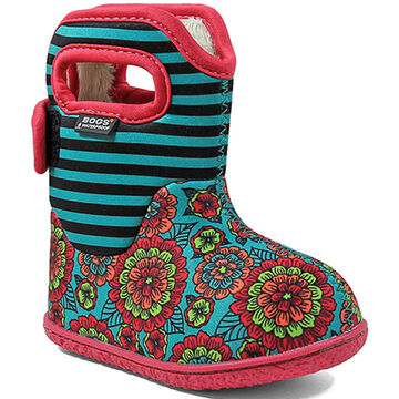 Bogs Infant/Toddler Girls' Baby Pansy Insulated Winter Boot
