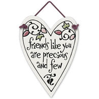 "Spooner Creek Designs ""Precious And Few"" Mini Charmers Heart Tile"