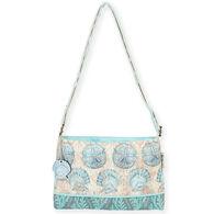 Sun N Sand Women's Laguna Shell Small Crossbody Handbag