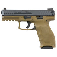 "Heckler & Koch VP9 FDE Night Sights 9mm 4.09"" 15-Round Pistol"