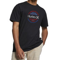 Hurley Men's Premium One And Only Circle Stars Short-Sleeve T-Shirt