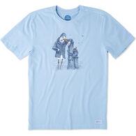 Life is Good Men's Salty Bird Crusher Short-Sleeve T-Shirt