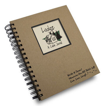 "Journals Unlimited ""Write It Down!"" Cabin Journal"