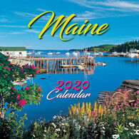 Maine Scene Maine 2020 Mini Desktop Calendar
