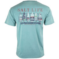 Salt Life Men's Lobster Buoys Salt Wash Pocket Short-Sleeve T-Shirt
