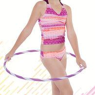 Gossip Girl Girls' Boho Sunset Tankini Swimsuit, 2-pc