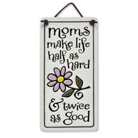 "Spooner Creek ""Moms Make Life"" Mini Charmers Tile"