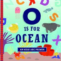 O is for Ocean Board Book by Ashley Marie Mireles