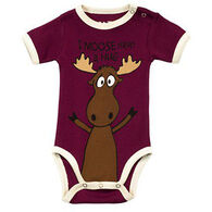 Lazy One Infant Girls' Moose Hug Creeper