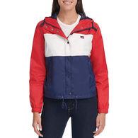 Levi's Women's Sporty Hooded Windbreaker Jacket