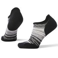 SmartWool Women's PhD Run Light Elite Striped Micro Sock