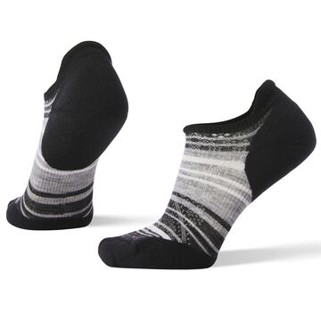 SmartWool Womens PhD Run Light Elite Striped Micro Sock