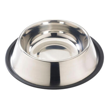 Spot Stainless Steel Mirror Finish No Tip Dog Bowl