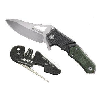 Lansky Responder Knife / Blademedic Sharpener Combo