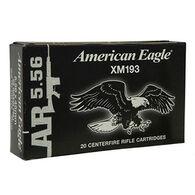 American Eagle 5.56x45mm 55 Grain FMJ BT Rifle Ammo (20)