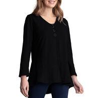 Habitat Women's Pieced Cardigan Long-Sleeve Top