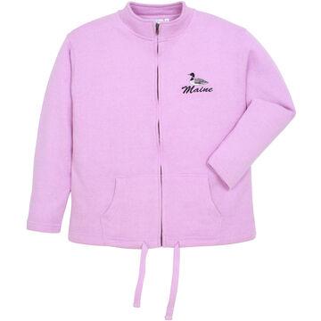 ESY Womens Maine Loon Full Zip Sweatshirt