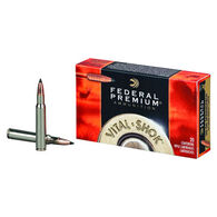 Federal Premium Vital-Shok 30-06 Springfield 165 Grain Trophy Copper Rifle Ammo (20)