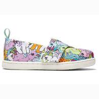 TOMS Girls' Tiny TOMS My Little Pony Alpargata Shoe