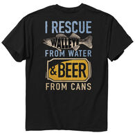 Buck Wear Men's Rescue Walleye Short-Sleeve T-Shirt