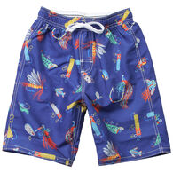 Wes And Willy Boy's Lures Swim Trunk