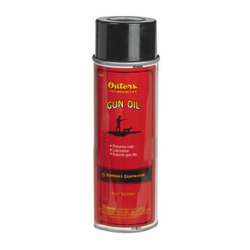 Outers Gun Oil Aerosol Lubricant