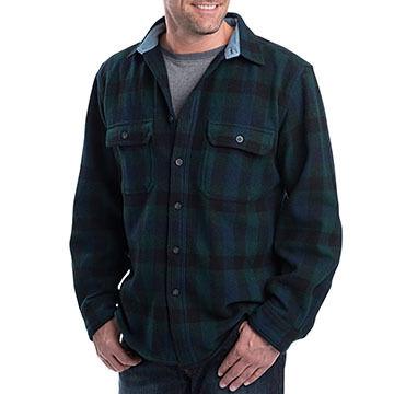 Woolrich Mens Wool Original Buffalo Check Long-Sleeve Shirt