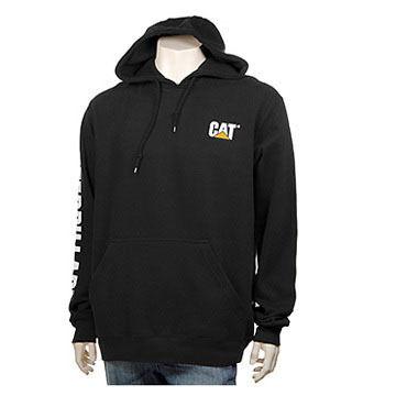 CAT Apparel Mens Trademark Banner Hooded Sweatshirt