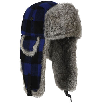 Mad Bomber Boys' & Girls' Lil Wool Bomber Hat with Fur Trim