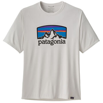 Patagonia Mens Capilene Cool Daily Graphic Short-Sleeve T-Shirt