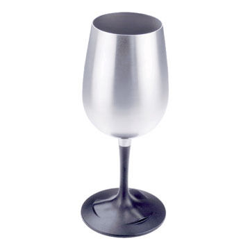 GSI Outdoors Glacier Stainless Nesting Wine Glass