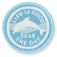 Life is Good Dolphin Days Positive Patch