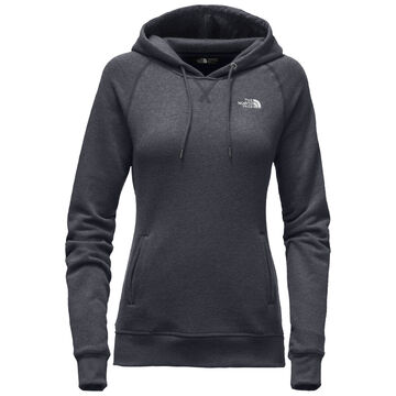The North Face Womens French Terry Logo Pullover Hoodie