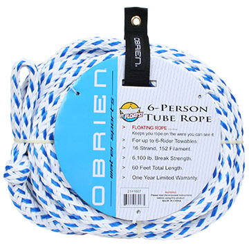 O'Brien Floating 6 Person Tube Rope